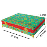 Brocade wooden Saree Box