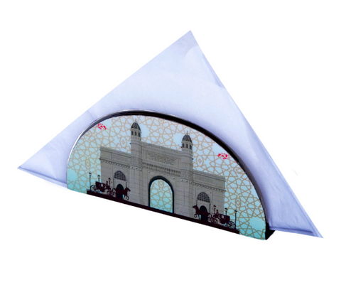 Gateway Carriage D Shaped  Napkin Holder