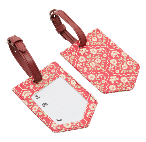 Kashmir Flower Baggage Tags