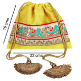 Zardozi Work Potli Bag