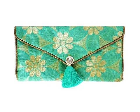 Daisy Brocade Envelope