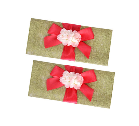 Floral Spray Paper Envelope - Set of 2