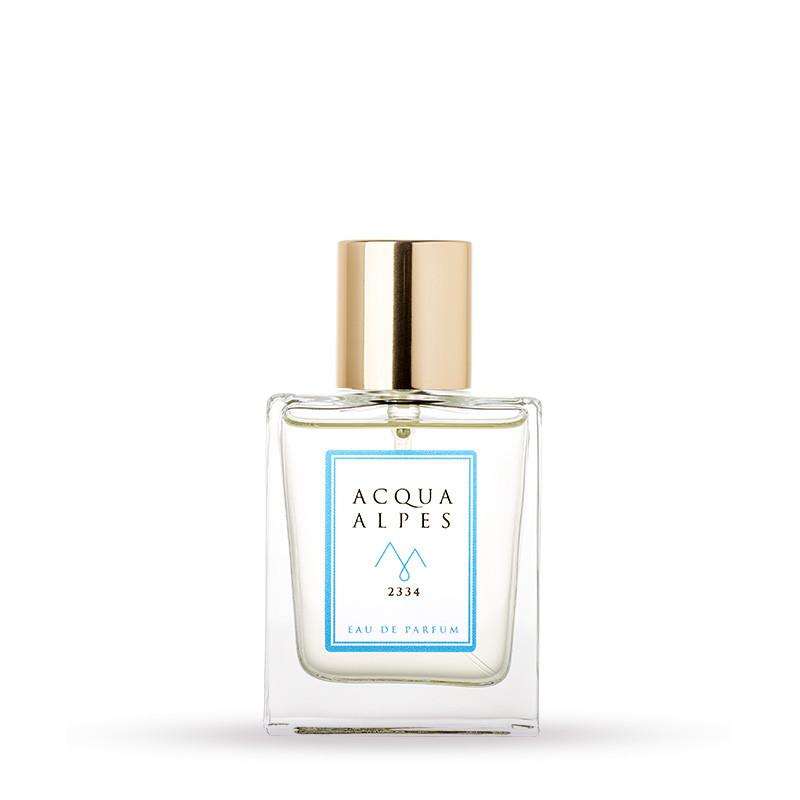 Product shot of fragrance 2334 from Acqua Alpes Perfumes.