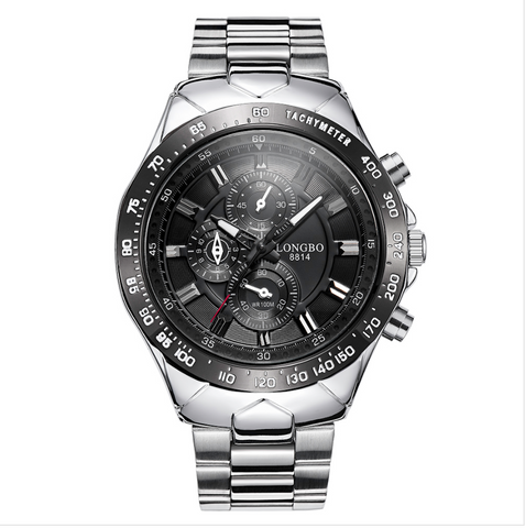 LONGBO Unique Men Analog Quartz Luminous Hands Watch