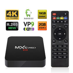 4K MXQ pro Media Center Smart TV BOX