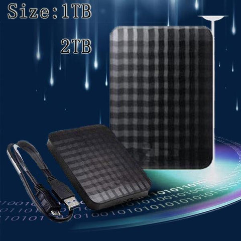 1TB/2TB External Hard Drive Storage Devices