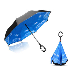3rd-Inverted Umbrella with C Handle