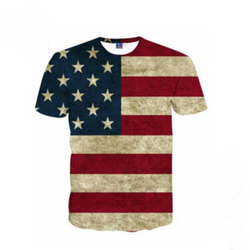 American Flag T-shirt for Men