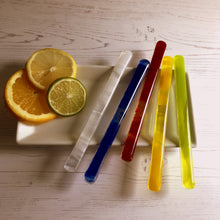 Lemonade Drink Stirrers / White Cocktail Stirrers / Reuseable Drink Stirrers