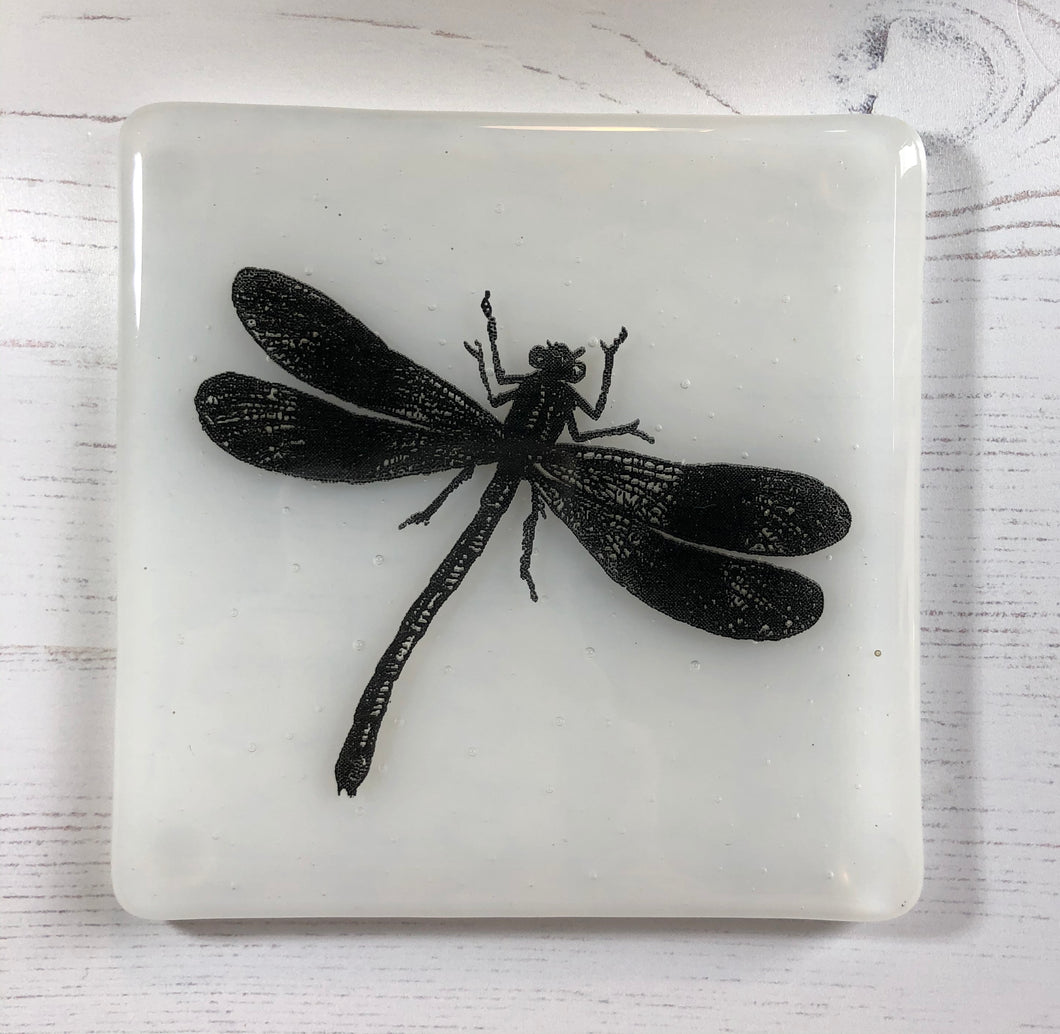 Dragonfly Coaster for Nature Lover / Dragonfly Gift / Coaster Gift