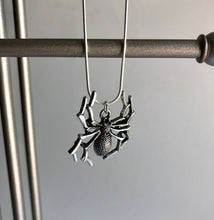 Spider Necklace / Halloween Jewellery / Dracula Costume / Vampire Fancy Dress