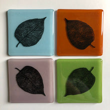 Leaf Coaster for Nature Lover / Autumn Leaves Gift / Indian Summer Nature Gift