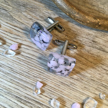 Rose Pink Cufflinks / Gift for Dad / Best Mate Gift / Cufflinks for her