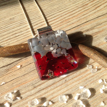 Ruby Necklace Choker Necklace Garnet Necklace Red Necklace