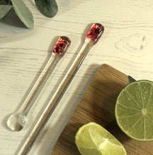 Cocktail Stirrer / Drink Stirrer / Quarantini / Swizzle Stick - Red