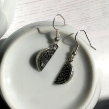 Lemon Wedge Earrings / Cocktail Jewelry / Carribbean Jewelry / Fruit Earrings