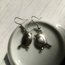 Silver Robin Earrings / Silver Birds / Bird Jewellery