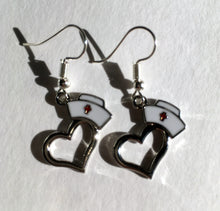 Nurse Earrings / Gift for Nurses / Nursing Cap / Co-Worker Gift / NHS gift
