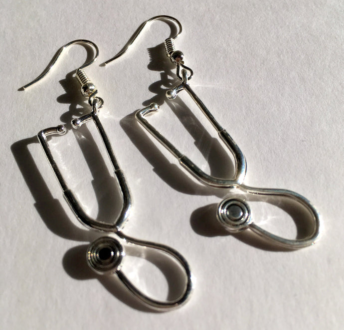 Stethoscope Earrings / Gift for Doctors / Stocking Filler / NHS gift / Nurse