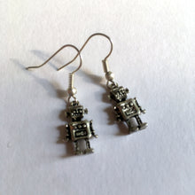 Robot Earrings Retro Toy Earrings