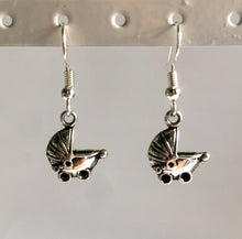 Baby Shower Jewellery / New Baby Gift for New Mom / Baby Pram Earrings
