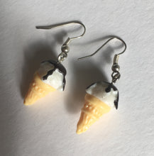 Ice Cream Earrings / Ice Cream Lover / Vanilla Ice Cream / Gift for Teenager