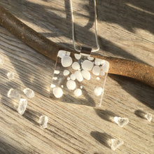 Snowball Necklace / White Bubble Necklace / Winter Necklace