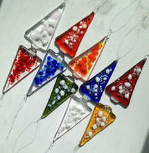 Multi-Buy Random Mix Christmas Tree Decorations / Handmade Fused Glass - save  up to 30%