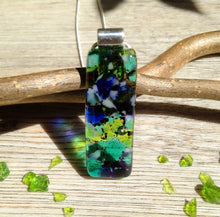 Blue Gift Jewelry / Nature Lover Necklace / Green Gift Jewellery / Green Necklace / Nature Jewellery