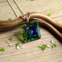 Nature Lover Necklace / Green Gift Jewellery / Green Necklace / Walk in the Woods / Hiker's gift