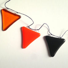 Clearance: Orange and Black Bunting / Harvest Festival / Glass Bunting