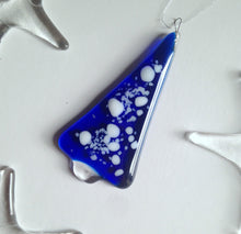 Blue Christmas Tree Decoration Ornament / Christmas Decor