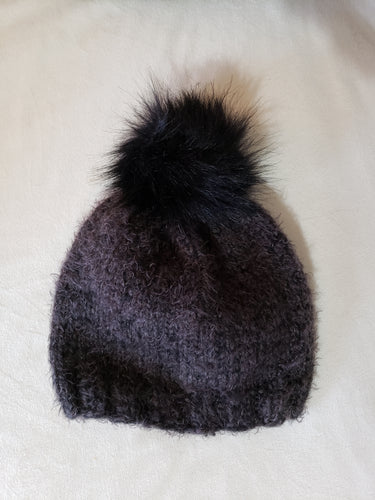 Adult Black Hygge Charm Hat
