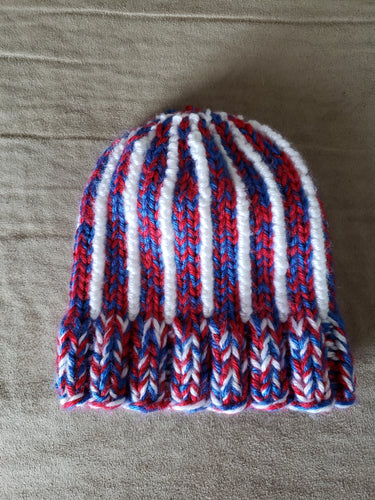 Baby Red White and Blue Hat