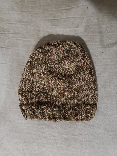 Adult Alpaca /Merino Wool Camo Hat