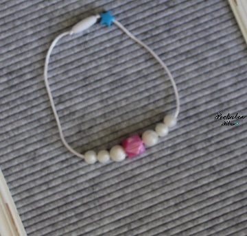 Pink Pearl Toddler Necklace
