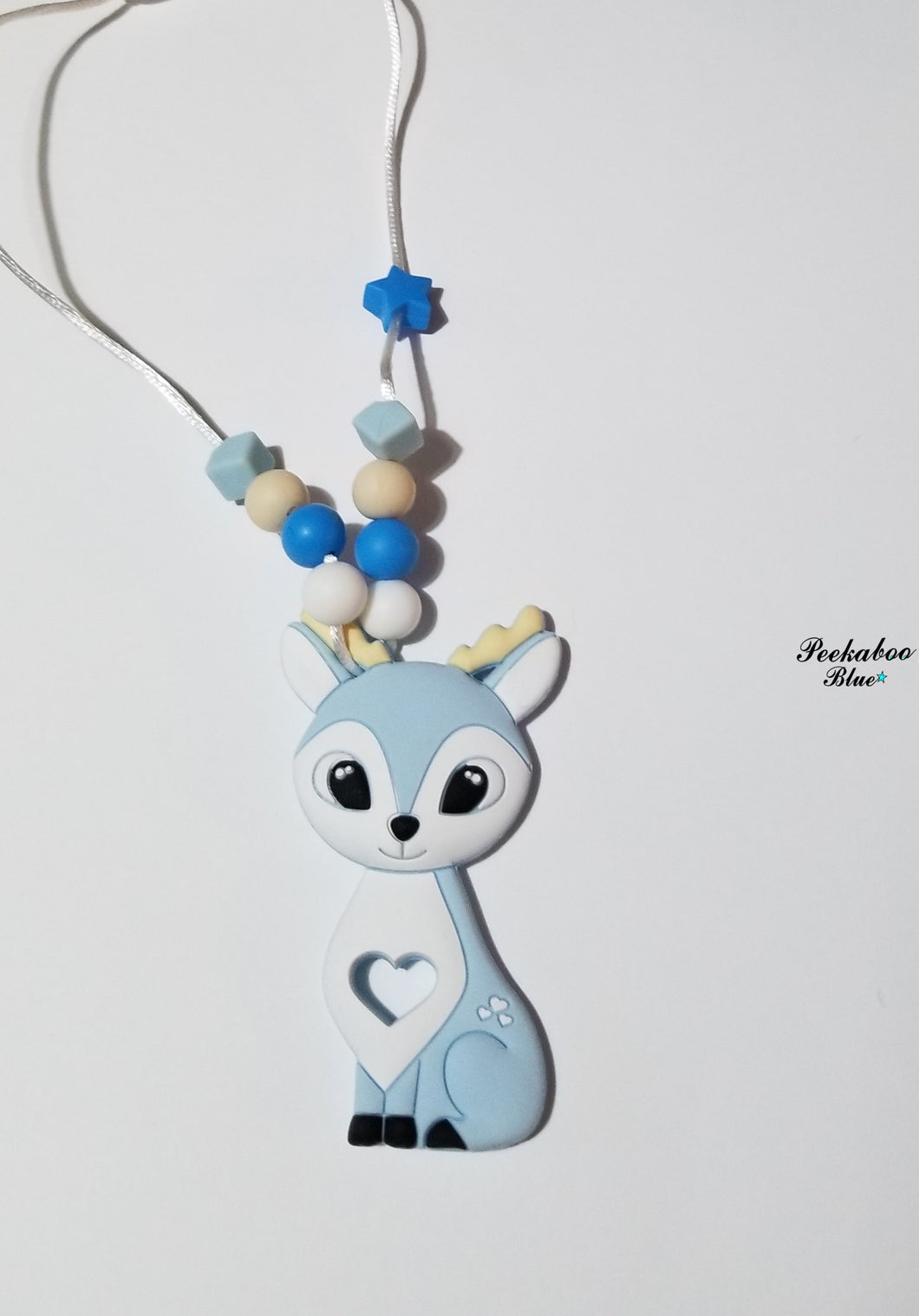 Silicone Deer Necklace