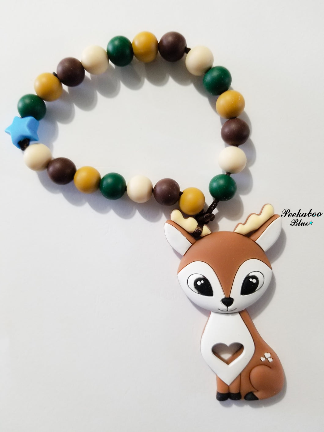 Camo Deer Teething Ring