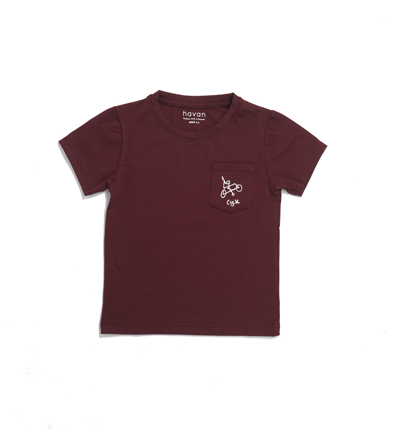 Cycle | Unisex Mini Maroon