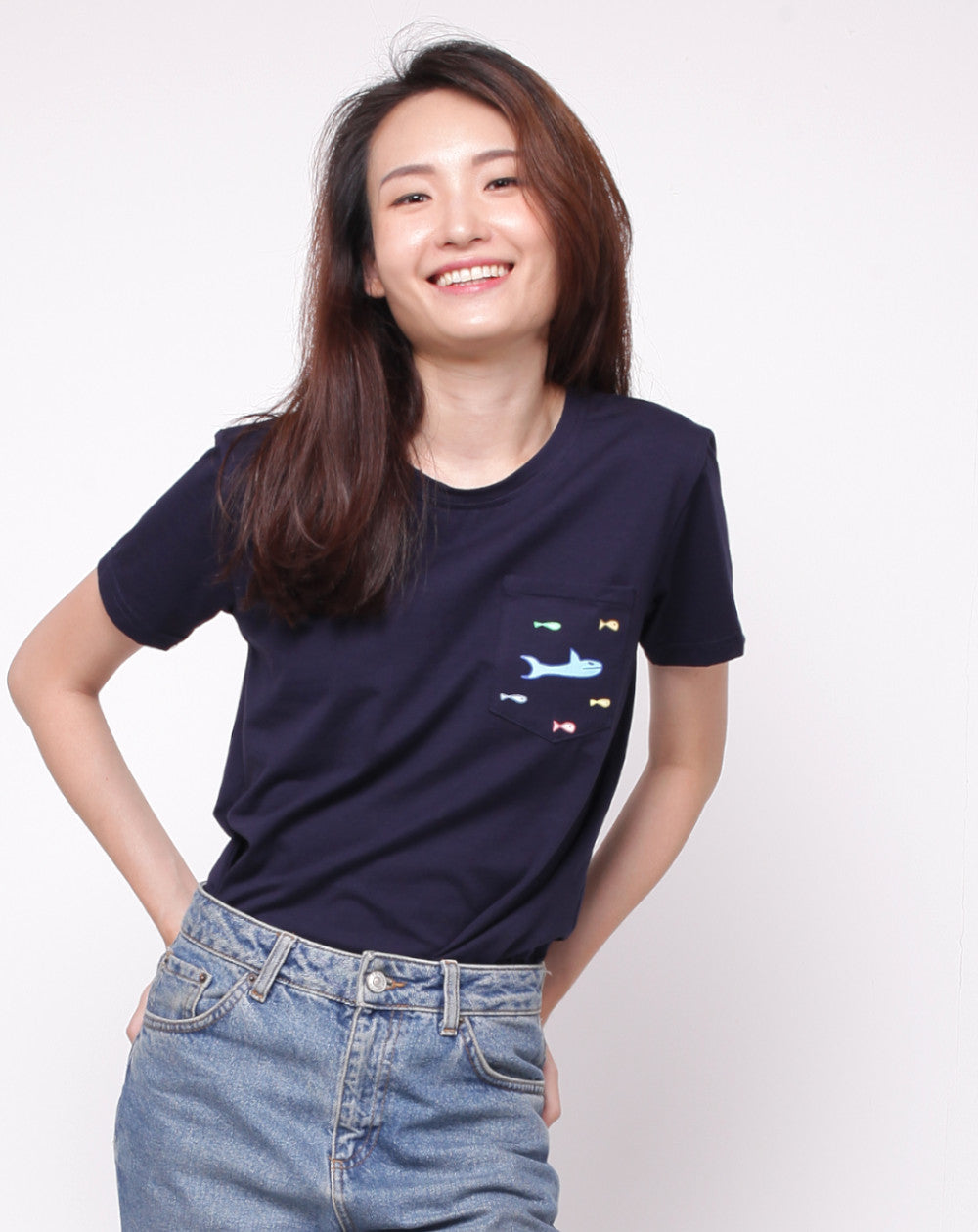 Schooling Fish | Unisex Adult Dark Blue