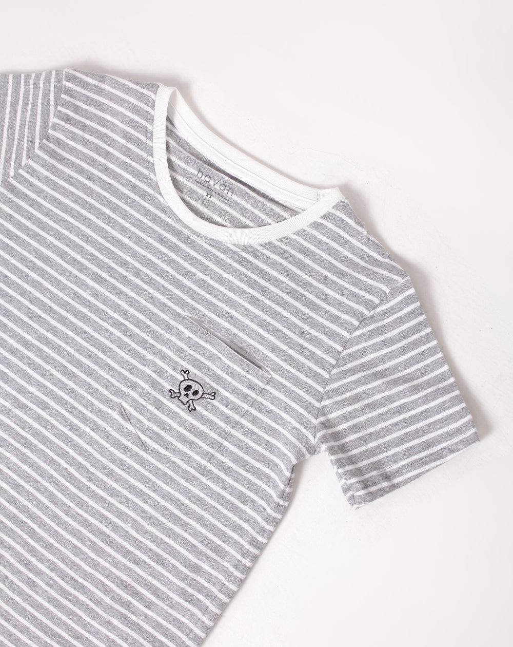 Skeleton | Unisex Adult Grey Stripes