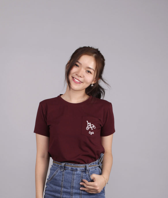 Cycle - Unisex Adult Maroon