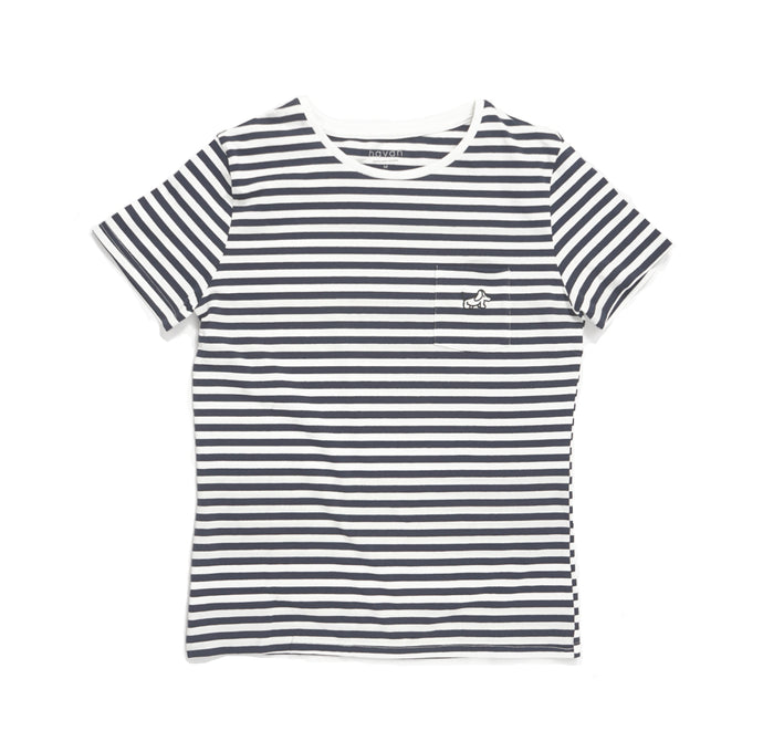 Beagle - Unisex Dark Blue Stripe