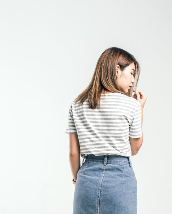 Beagle | Unisex Grey Stripe