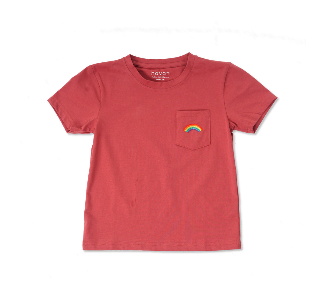 Rainbow | Unisex Mini Red Rock