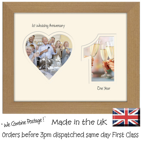 Anniversary Photo Frames – Photos in a word