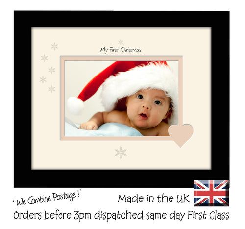 My First Christmas Landscape photo frame 6
