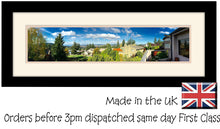"17.5""x4"" Approx Panoramic Photo Frame Double Mounted 953P 535mm x 180mm mount size , Choices of frames & Borders"