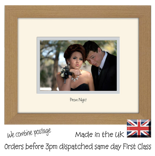 Prom Photo Frame - Prom Night 6x4 Photo Frame Landscape 6