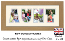 Aunt Photo Frame - Aunt Photo Frame 1269-BB 375mm x 151mm mount size  , Choices of frames & Borders